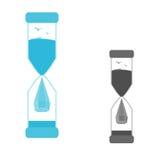 Комплект часов логотипов Стоковое Изображение RF