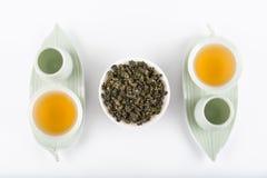 Комплект чая для 2 стоковое изображение