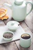 Комплект чая Стоковое Изображение
