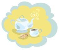 Комплект чая бесплатная иллюстрация