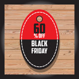 Комплект черной продажи пятницы Черное знамя пятницы дополнительное знамя может измененное сбывание формы Стоковое Изображение