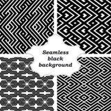 Комплект черно-белых картин Стоковые Фотографии RF