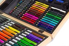 Комплект чертежа цвета Стоковое Изображение RF