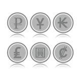 Комплект чужих монеток Стоковые Фото