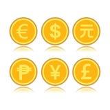 Комплект чужих монеток Стоковое Изображение RF