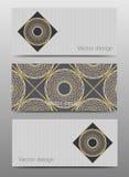 Комплект шаблона дизайна знамен вектора Стоковое Фото