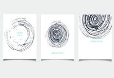 Комплект шаблона круга Стоковая Фотография RF