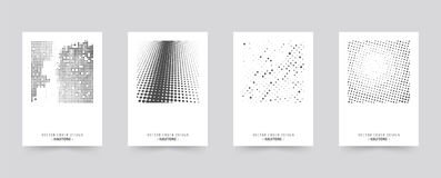 Комплект шаблона крышки брошюры иллюстрация штока