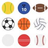Комплект шариков игры бесплатная иллюстрация