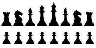 Комплект шахмат Стоковое Изображение