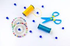 Комплект шить и дизайна Стоковое Изображение RF