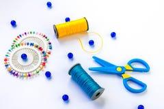 Комплект шить и дизайна Стоковые Фотографии RF