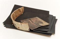 Комплект шкурки и расшивы Стоковое фото RF