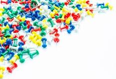 Комплект штырей нажима в других цветах Стоковые Фотографии RF