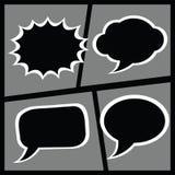 Комплект шуточного диалогового окно Стоковые Изображения RF