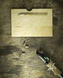 Комплект щеток искусства Стоковые Фото