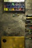 Комплект щеток искусства Стоковое Изображение RF