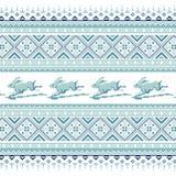 Комплект этнической картины орнамента праздника в других цветах Стоковые Фото