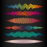 Комплект элемента дизайна волны Стоковые Фотографии RF