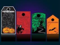 Комплект элемента хеллоуина Стоковые Изображения