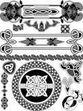 Комплект элементов дизайна Стоковая Фотография RF