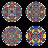 Комплект элементов круга дизайна Стоковые Изображения