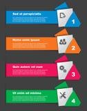 Комплект элементов infographics Стоковая Фотография