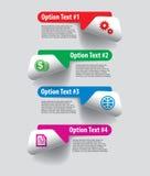 Комплект элементов infographics Стоковые Изображения RF