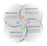 Комплект элементов infographics Стоковое Изображение