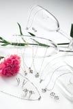 Комплект ювелирных изделий Стоковое Фото