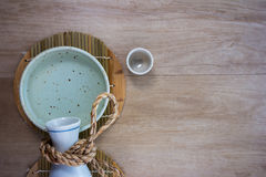 Комплект японского ради выпивая Стоковые Фото