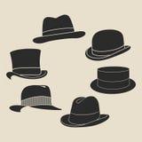 Комплект ярлыка шляпы Стоковое фото RF