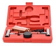 Комплект для ремонта автошины плоского автомобиля, комплект для ремонта штепсельной вилки автошины для безламповой автошины Стоковая Фотография RF