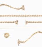Комплект для создает изображение процесса вытягивая веревочки Высокое demention Стоковая Фотография
