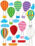 Комплект Ballooon воздуха Стоковые Изображения