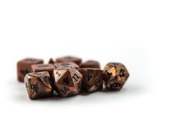 Комплект dices Стоковые Изображения RF