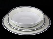 Комплект dinnerware фарфора Стоковые Фотографии RF
