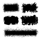 Комплект doodles вектора Элементы дизайна Scribble Стоковые Изображения