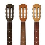 Комплект fretboard и headstock шеи гитары бесплатная иллюстрация