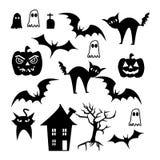 комплект halloween Стоковое фото RF
