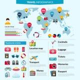 Комплект Infographics перемещения бесплатная иллюстрация