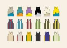 Комплект jersey баскетбола Стоковое Изображение RF