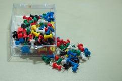 Комплект pushpins стоковые фотографии rf