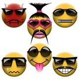 Комплект Smiley бесплатная иллюстрация