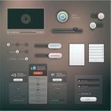 Комплект UI Стоковые Изображения
