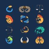 Комплект Zodiak Стоковая Фотография