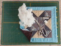Комфорт кожуха подушки Стоковые Фотографии RF