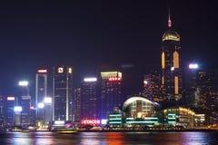 Конвенция и выставочный центр Гонконга стоковая фотография