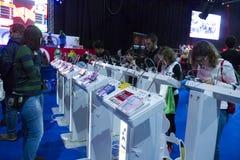 Конвенция поп-культуры игры Стоковое Фото