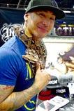 Конвенция татуировки, Лас-Вегас Невада стоковое изображение